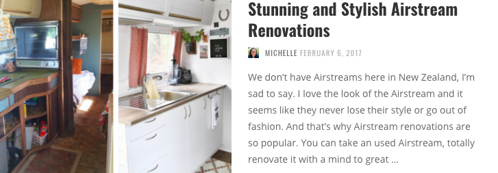 If travel trailers are your thing, you'll probably love the Airstream. Here are some stunning Airstream renovations to fuel your passion.