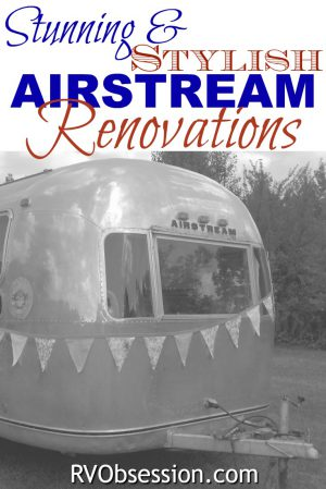 These stunning and stylish airstream renovations take the much-loved Airstream and give a new lease on life. Filling it wtih clever design, inspired innovation, modern conveniences and long-held love. Let these airstream renovations and remodels inspire your own airstream project. #airstreamrenovations #airstream #airstreamremodel