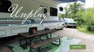 RV Mats | RV Patio Mats | RV Awning Mats - b.b.begonia Designer Outdoor Rugs - specialists in outdoor rugs for your RV adventure.