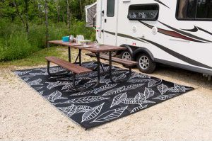 RV Mats | RV Patio Mats | RV Awning Mats - The RVecoFlow Store - specialists in outdoor rugs and furniture for RVs.