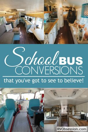 School bus conversions can make a dilapidated old bus into a beautiful home on wheels. A well designed conversion can make your new home both comfortable, spacious and stylish!
