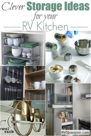 Small Kitchen Storage Ideas | RV Obsession on organizing bedroom ideas, organizing a tiny house, organizing a small bathroom ideas,