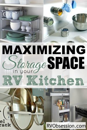 ... Small Kitchen Storage Ideas - When youu0027re limited in space you need to make & Small Kitchen Storage Ideas | RV Obsession