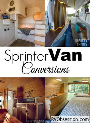 Sprinter Van Conversions - when done right these van conversions turn a big ole cargo van into a beautiful