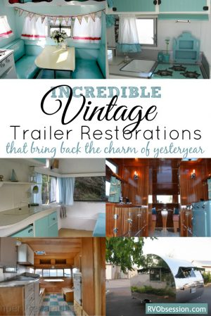 These incredible Vintage Trailer Restorations help us to remember a little piece of yesteryear. Check out these lovely restorations of classic old travel trailers.