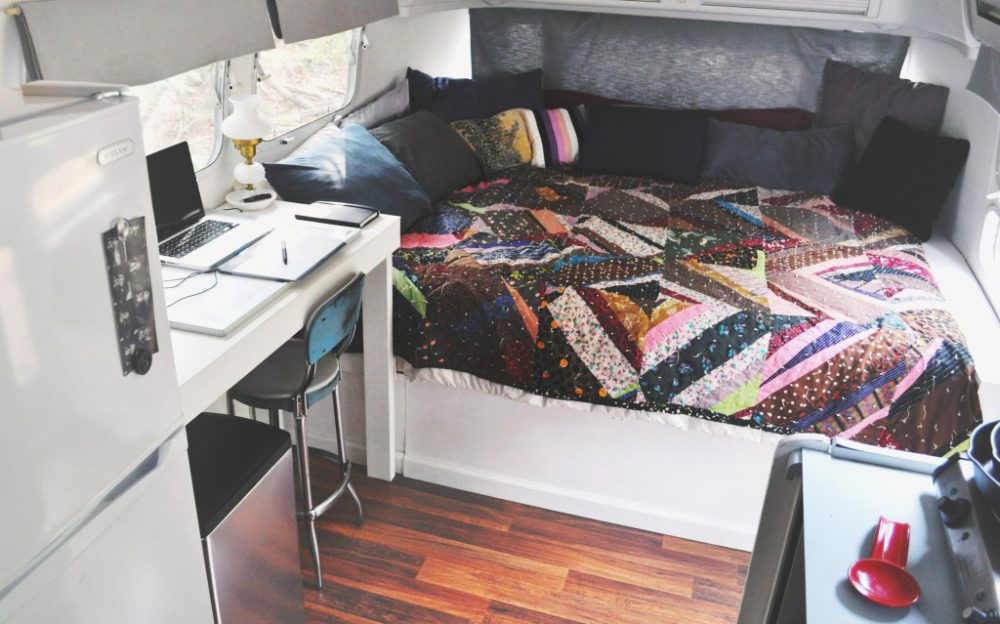 Airstream Renovations - when you renovate you get to make sure that your new home on wheels has all the things that are important to you; and those things that make your life the most comfortable and enjoyable.