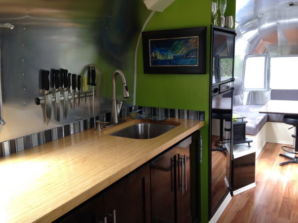 Airstream Renovations - Renovating a used airstream delivers that perfect RV that has all the features that are most important to you. With some design flair, these homes on wheels are both beautiful and functional.