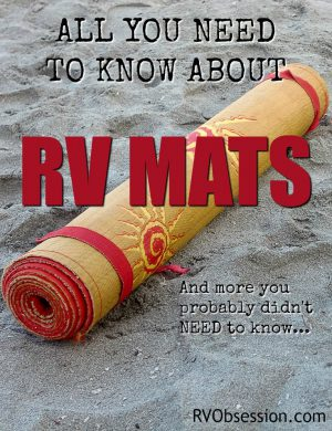 RV Mats | RV Patio Mats | RV Awning Mats - Mats for outside your RV to make your own patio area.