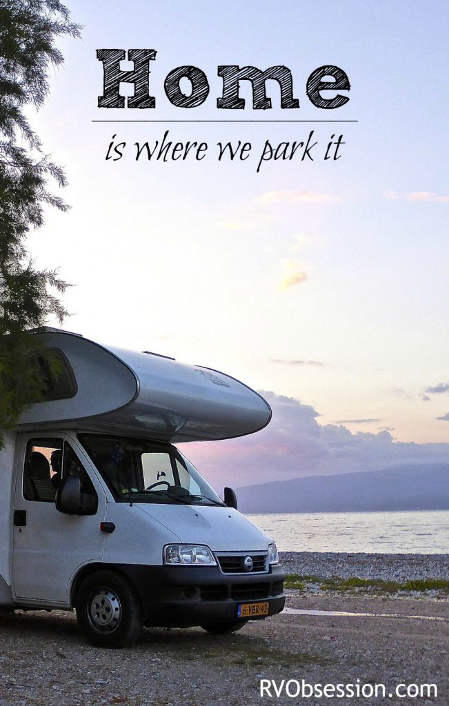 Travel Quotes Inspirational - Home is where we park it.