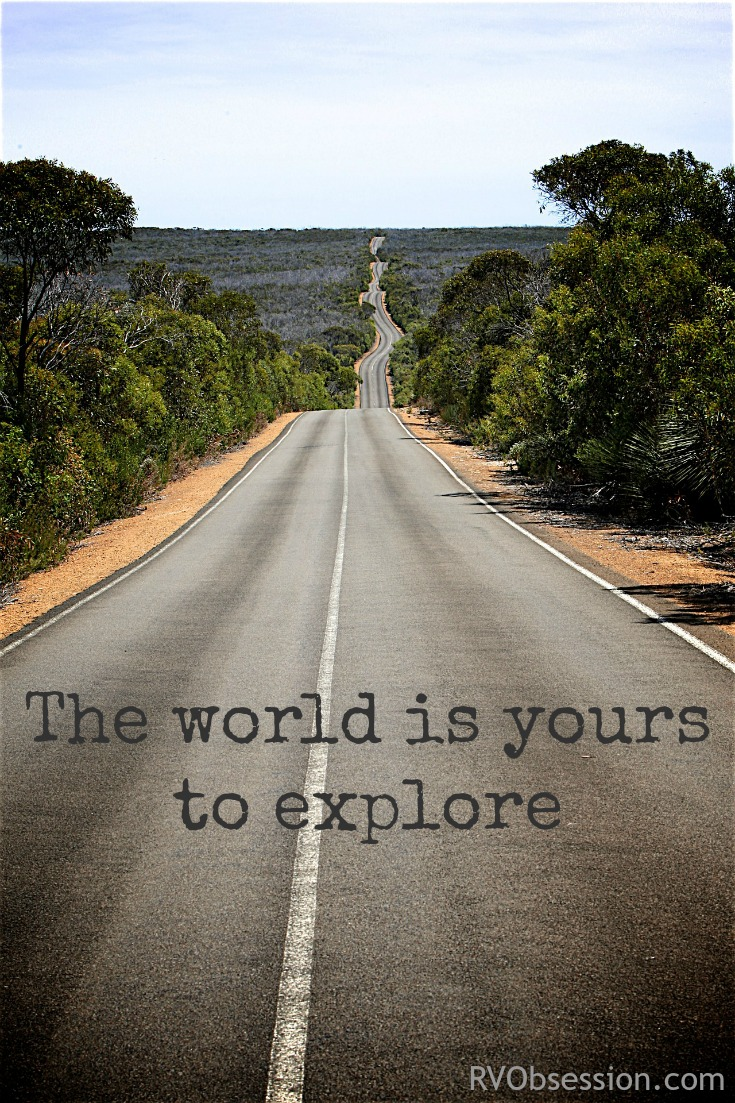 Travel Quotes Inspirational - The world is yours to explore.