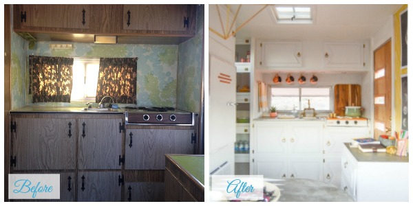 Travel Trailer Renovations - when you need some inspiration for your travel trailer renovations. The Nugget