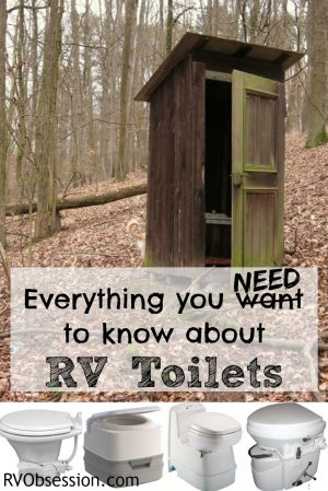 RV Toilets - you hear the words like black tank, cassette, composting and porta potti... but no one has actually explained what each of these are... until now.