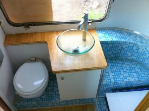 RV Bathroom Renovations - Another fabulous RV bathroom design