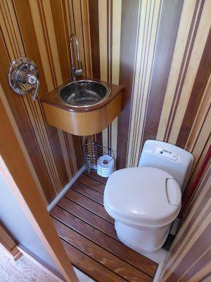 RV Bathroom Renovations - a small but functional (and beautiful) space
