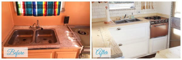 Travel Trailer Renovations - when you need some inspiration for your travel trailer renovations. Our Little Life