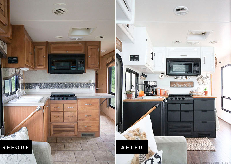 Travel Trailer Renovations | RV Obsession on architecture building event ideas, fema camp columbus ohio, fema camper roof, airstream restoration ideas,