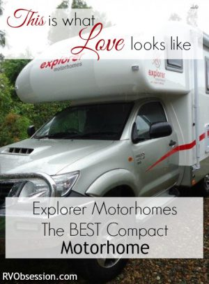 Best Compact Motorhome - Hands down, the winner of this category is the Explorer Motorhome. Of course it's a totally subjective selection, but it's perfect for ME and how I want to live.