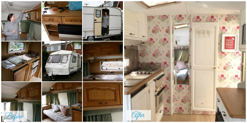 Travel Trailer Renovations - when you need some inspiration for your travel trailer renovations. The Twinkle Diaries