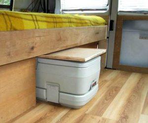 Superieur Porta Potty In A Cupboard