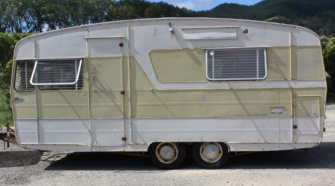 Travel Trailer Renovations - much as I'd love to buy this caravan that's available for sale here in New Zealand, I know that I just don't have the space, money or skills to renovate her. But I still love looking at renovations and dreaming about what can be done.