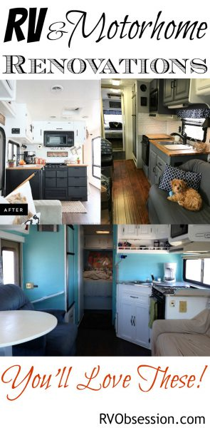 RVObsession.com - RV Renovations | Motorhome Renovations - Whether it's a quick spruce up or a major remodel, an RV renovation can breathe new life into an old motorhome.