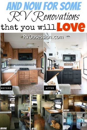 RVObsession.com - RV Renovations | Motorhome Renovations - If you're in the process of an RV renovation you'll smile when you see these RV renovations - whether it's a quick spruce up or a major remodel, an RV renovation can breathe new life into an old motorhome.