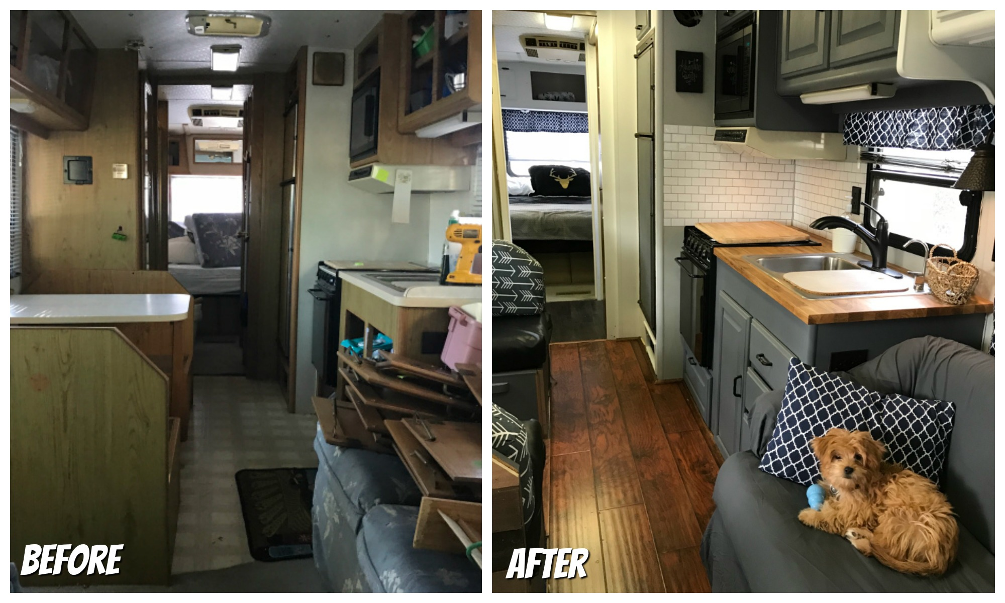 RVObsession.com - RV Renovations | Motorhome Renovations - Whether it's a quick spruce up or a major remodel, an RV renovation can breathe new life into an old motorhome. The New Lighter Life