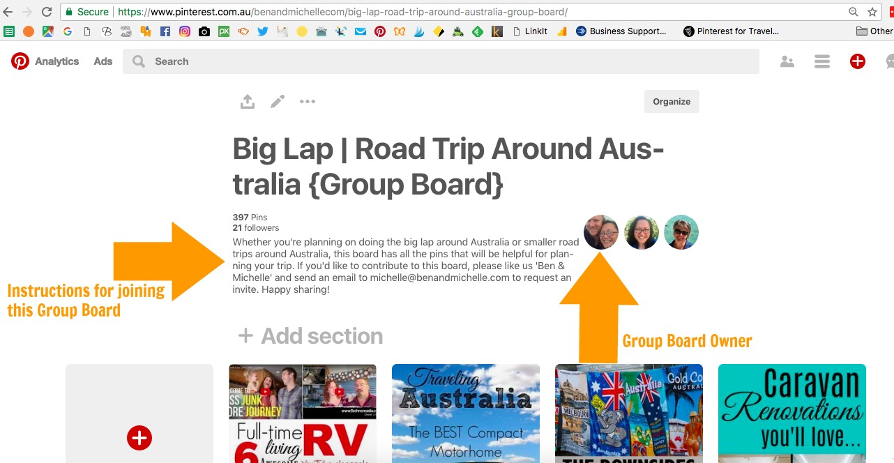 How to use Pinterest to send traffic to your blog - Joining group boards is a great way to increase your reach and collaborate with others in your niche.