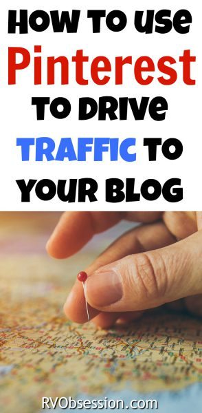How to use Pinterest to send traffic to your blog - find out how you can send traffic to your blog even if it's brand new or you're struggling to get page views. I know it works, because it works for my blog too!