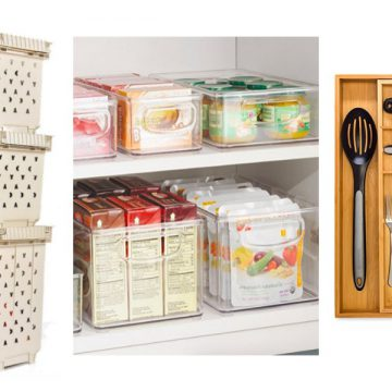 Organize Your RV Kitchen Cabinets & Drawers - here's some simple (and cheap, you don't have to buy anything) ideas for organizing your small RV kitchen and utilizing all the space you have.