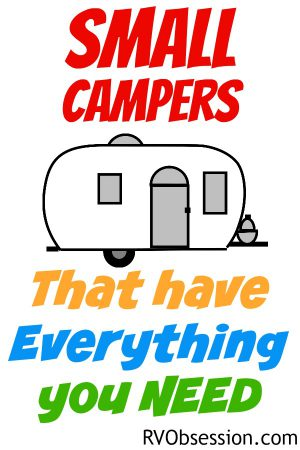 I know from my own research that it can be a bit tough to find many options of Small Campers that have everything you need. 'Everything' being the necessities like a toilet, shower, kitchen, bed and seating. But there are some small RVs out there that fill this criteria, so here they are.