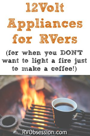 RV 12 volt appliances are not always the easiest to find, and they're not always the greatest quality either. But here are some appliances that will suit RVs and any other home on wheels.
