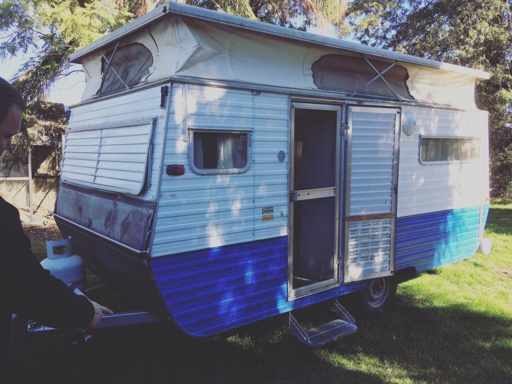small 14ft caravan