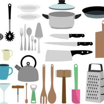 RV Kitchen Storage Solutions - get tips and ideas for how to store everything from spices to wine glasses.