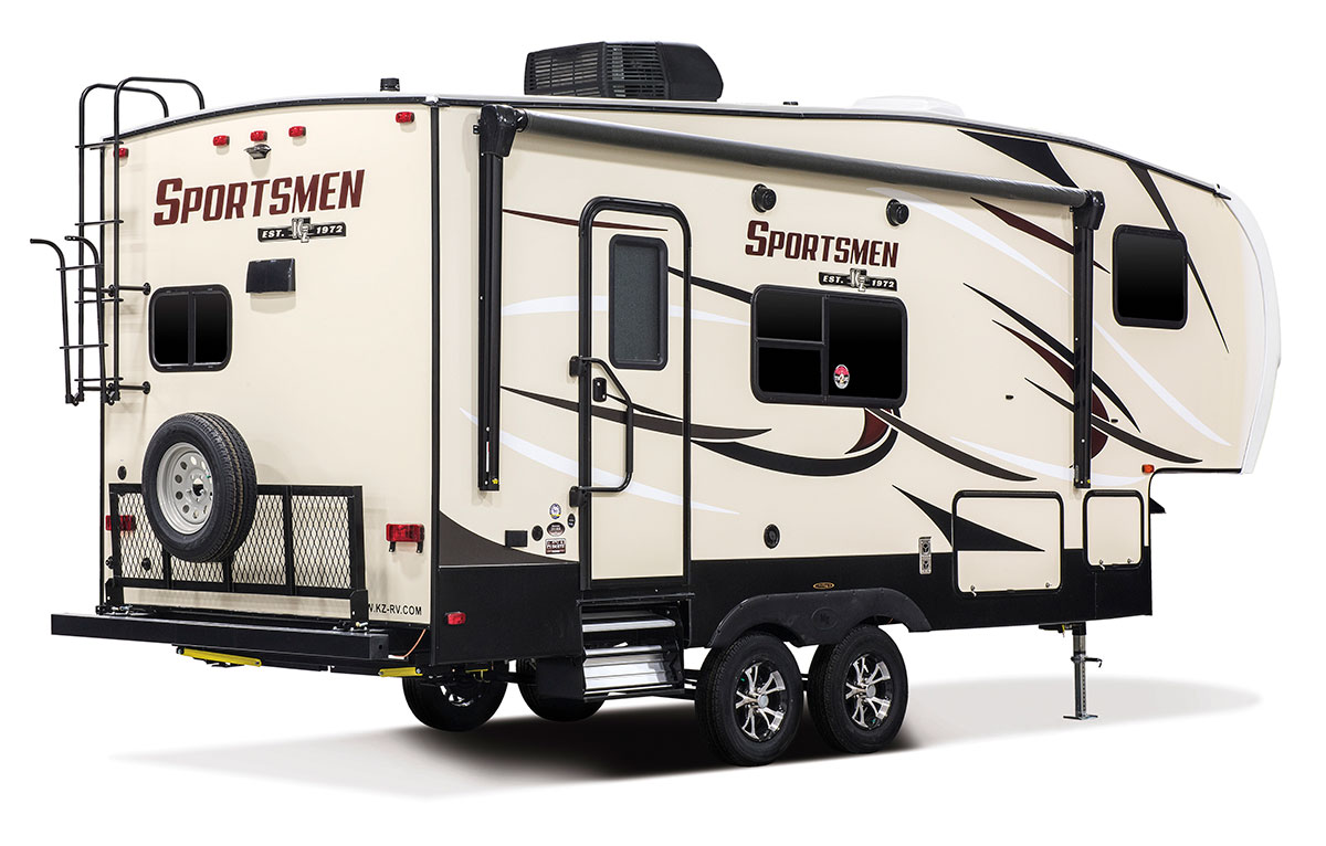 KZ Sportsmen Fifth Wheel exterior view