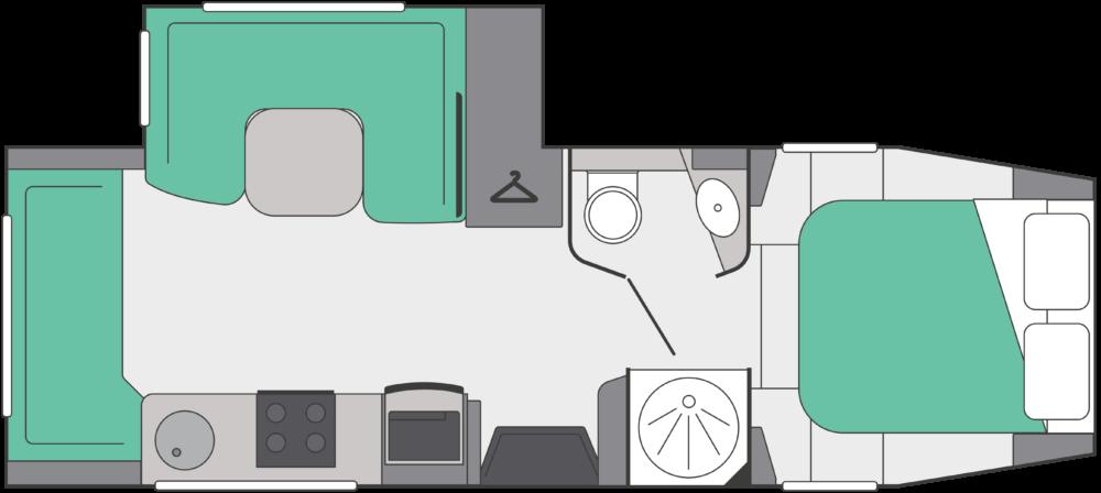 Fifth Wheel Co Dreamseeker layout