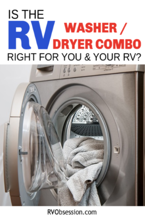 RV Laundry - is an RV washer dryer combo the only option for doing your laundry in an RV? There are a couple of options for you to look at, and an RV washer dryer combo is just one of them. #RVlaundry