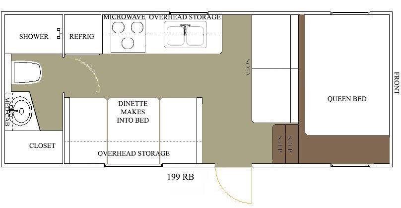Allen Camper fifth wheel floor plan