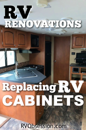 When renovating your RV kitchen you'll need to know things like where to buy replacement RV cabinets, or if you're going to repair the overhead cabinets for RV yourself you'll want to know where to find RV overhead cabinet hinges and hardware. Click here to read all about where to purchase RV cabinets and hardware. #replacementrvcabinets