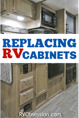 Whether you want to know where to purchase RV cabinets or RV overhead cabinet hinges, this article talks all about RV cabinets and furniture and replacement RV cabinets. #RVcabinetsandfurniture
