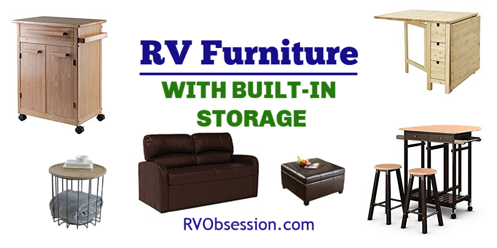 Rv Furniture With Storage Built In Rv Obsession