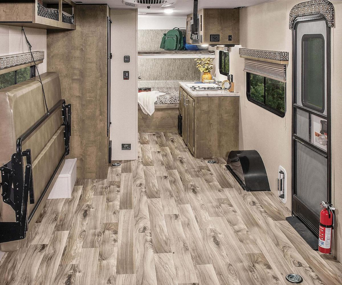 KZ RV Escape toy hauler