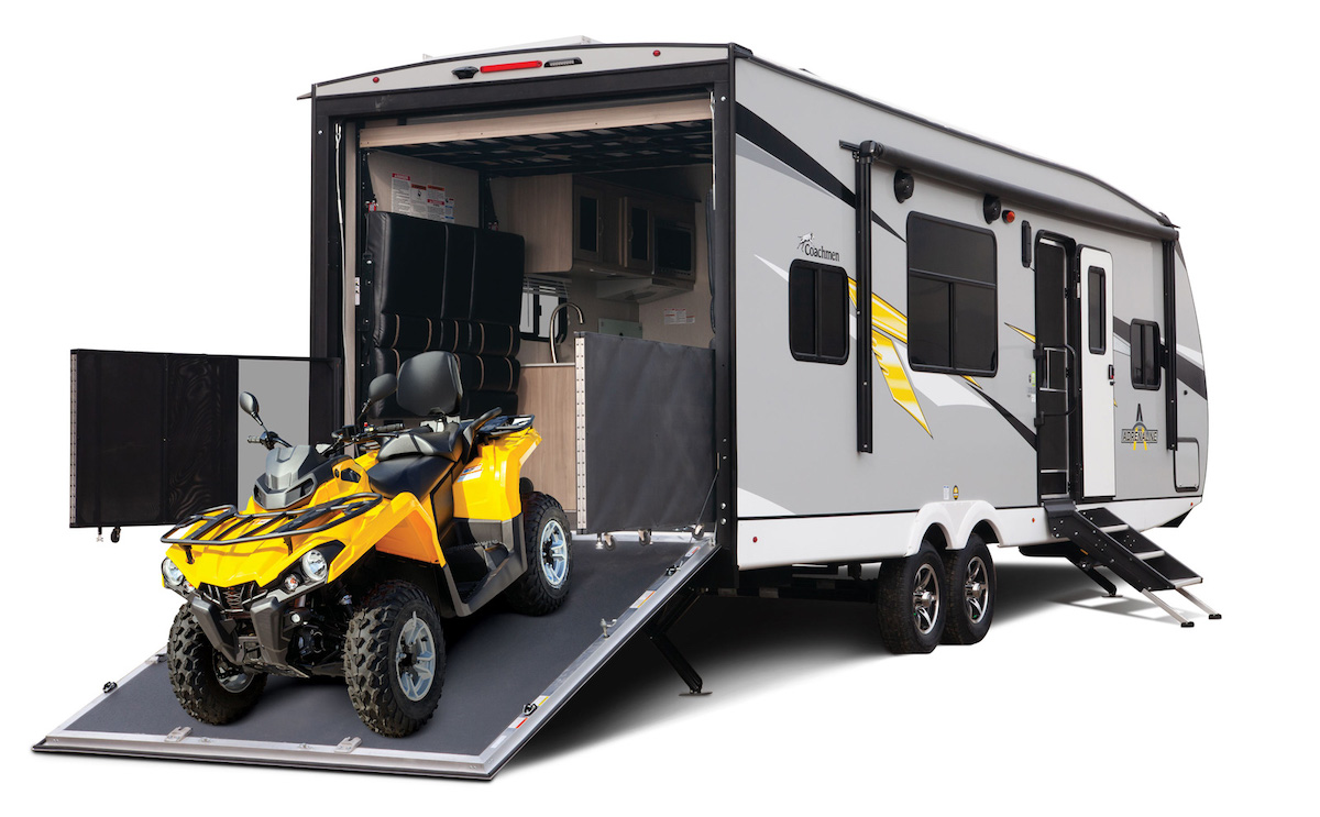 Coachmen Adrenaline 21LT toy hauler