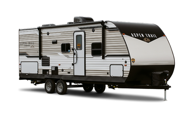 Dutchmen Aspen Trail 3250THS toy hauler