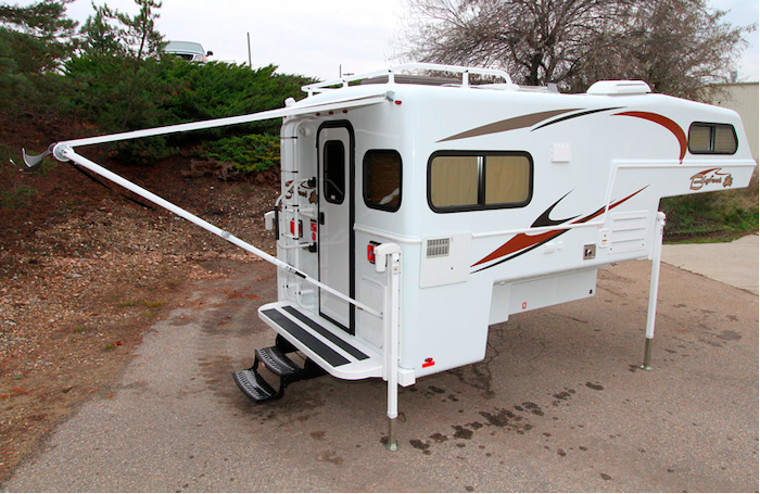 Bigfoot 1500 Series truck camper exterior