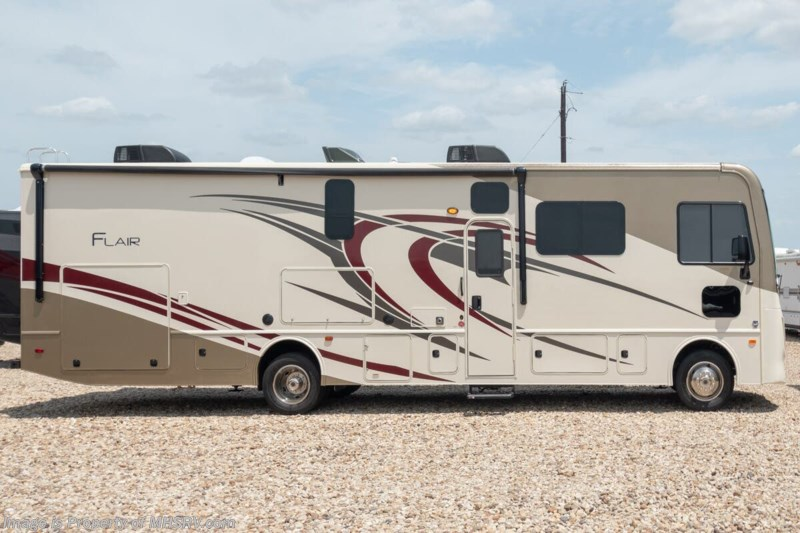 Exterior view of Fleetwood RV Flair 34J