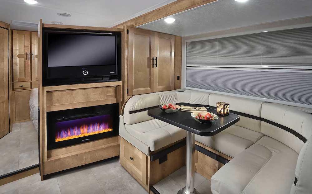 Interior of a Coachmen RV Prism 24FS.